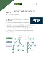 Redes Jerárquicas y funcionamiento del Switch _ El Taller del Bit