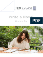 Write a Novel Module Six_Writing Style