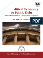 (New Thinking in Political Economy series) Richard M. Salsman - The Political Economy of Public Debt_ Three Centuries of Theory and Evidence-Edward Elgar Pub (2017).pdf