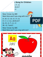Alphabets with sounds