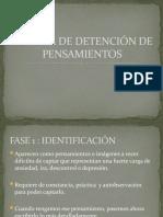 TÉCNICA DE DETENCIÓN DE PENSAMIENTOS
