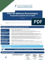 Plan Relance Économique CGEM