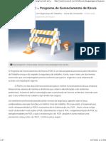 Elaboração da PGR - Programa de Gerenciamento de Riscos