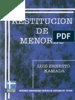 Restitución de Menores- Kamada, Luis Ernesto.pdf