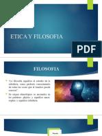 ETICA Y FILOSOFIA