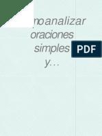 COMO ANALIZAR  UNA ORACION SIMPLE.pdf