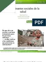 Determinantes sociales de la salud MF UAch 2014