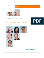 biomarker testing of lung cancer