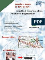 Acqua in Bocca 25-09-20 Analisi ppt del progetto Bagnacavallo - Riduttori di Flusso