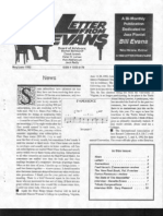 Letter From Evans, Vol 3, No  5