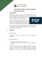 Plan de leccion 4 - Fuerzas Distribuidas en Vigas