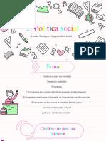II Politica social