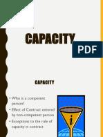 Capacity (LAW2104)