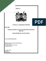 Agenda 21 Progress - Kenya