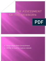 Behaviour Assessment of the Newborn
