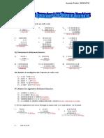 3 Ejercicio Sistemas Numericos