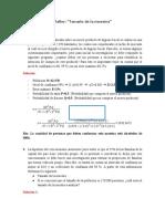 SoluciónTaller calculo de la muestra