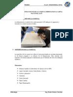 INFORME D ELA CUECA