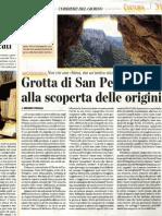 Grotta San Pellegrino, alla scoperta delle Origini