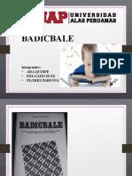badicbale