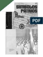 Ficha libro símbolos patrios, editorial gabriela mistral