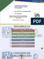 DESARROLLO ORGANIZACIONAL PRESENTACIÓN