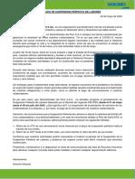 Comunicado-Electrotiendas del Perú - SPL