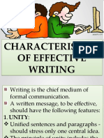 THE WRITING SKILL