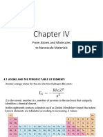 5. Chapter IV - From Atoms and Molecules