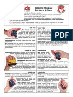 Prohands Sports Exercises