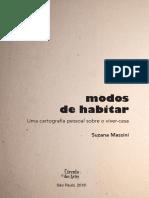 9788567449074 -Modos de habitar - Suzana Massini