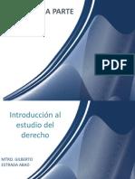 INTRODUCION AL ESTUDIO Y AL DERCHO PRIMERA PARTE