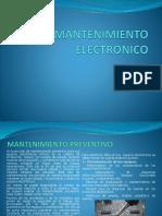 Mantenimiento electrónico teoría