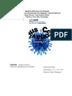 trabajo sobre el coronavirus - hilda