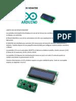 Módulo - 08 A LCD HITACHI HD44780