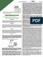 Acdo. Min. 7-2019 Aprueba contrato concesión cultivo de camarón marino