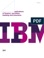 IBM 8655 Optimization Applications in Finance Securities Banking and Insurance White Paper PRF2 Sep27 10