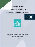 Buku Manual PPDB 2020 - Admin - Sekolah SMA_v1