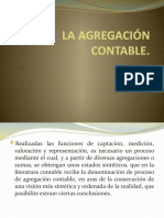 Clase 7 LA AGREGACIÓN CONTABLE