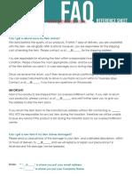 12.07 FAQ Reference Sheet
