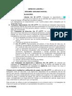 2do parcial Derecho Laboral I