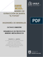 Proyecto Minero de Barita, Galena NL