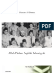 Al-Banna - Allah Dalam Aqidah Islamiyyah