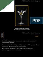 Matini Bar concept