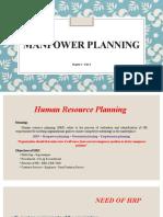 Chapter 2 Manpower Planning Process