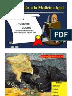 Medicina Legal - 1 - Introducción a la Medicina Legal (diapositivas)