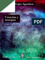 Agamben-Creación y anarquía.pdf