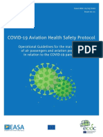 EASA-ECDC COVID-19 Operational Guidelines for Management of Passengers