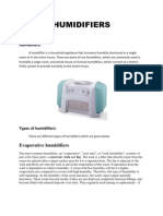 Humidifiers 1