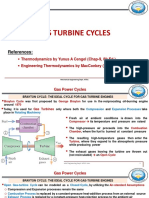Chapter 4 Gas power cycles